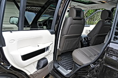 2010 Land Rover Range Rover rear seating