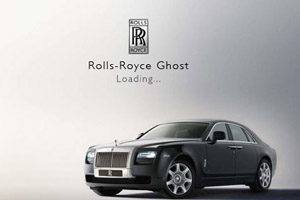RollsRoyce Ghost iphone app