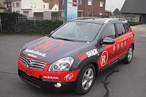 Team RadioShack Support Car, Nissan Qashqai 2