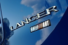Mitsubishi Lancer Ralliart badge