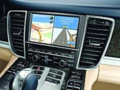 3D navigation map, hard-drive base navigation, 7 inch display