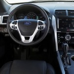 2011 Ford Explorer driver's cockpit