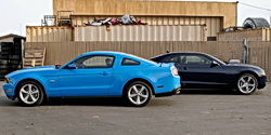 2010 Chevrolet Camaro vs. Ford Mustang