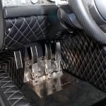 Spyker C8 Aileron pedal setup