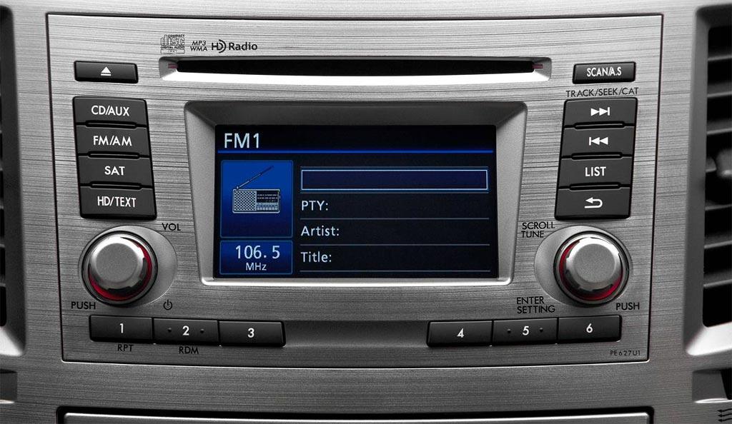 2012 Subaru Outback Stereo