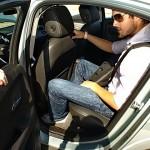 2011 Chevrolet Volt rear seat legroom