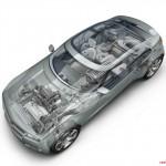 2011 Chevrolet Volt drivetrain illustration