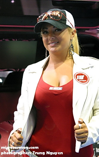 SEMA 2010 spokesmodel