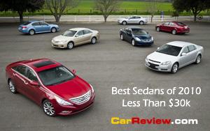 best_sedans_2010