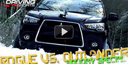 2011 Nissan Rogue vs. 2011 Mitsubishi Outlander