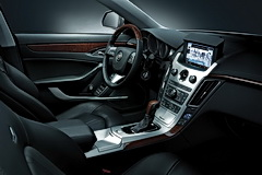 Cadillac CTS Coupe interior