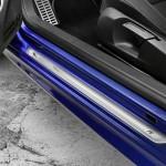 2011 VW Golf R - signature aluminum door sills