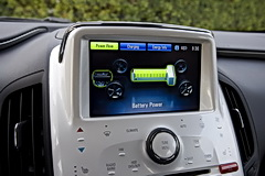 2011 Chevrolet Volt Information Display