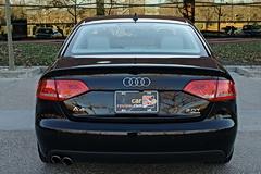 2011 Audi A4 2.0T rear view