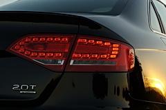 Audi A4 LED tail lights
