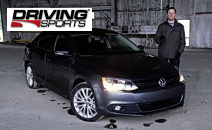 2011 VW Jetta review by Driving Sports TV