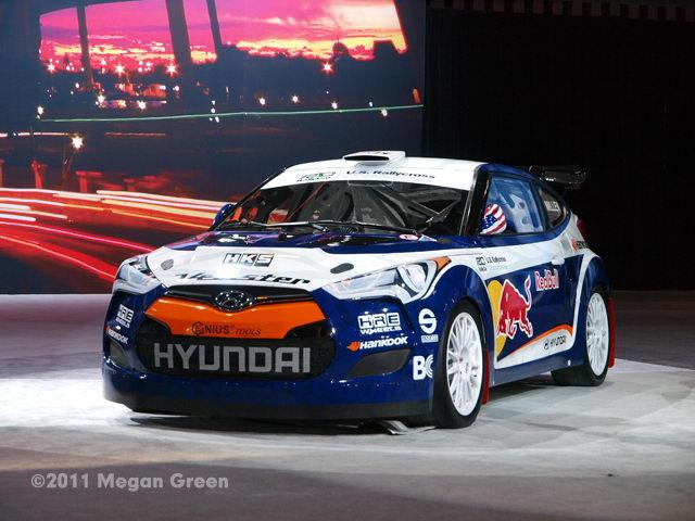 ©2011 Megan Green - Hyundai Veloster Rallycross