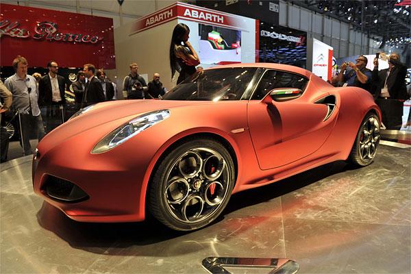 Alfa Romeo 4C Concept Coupe