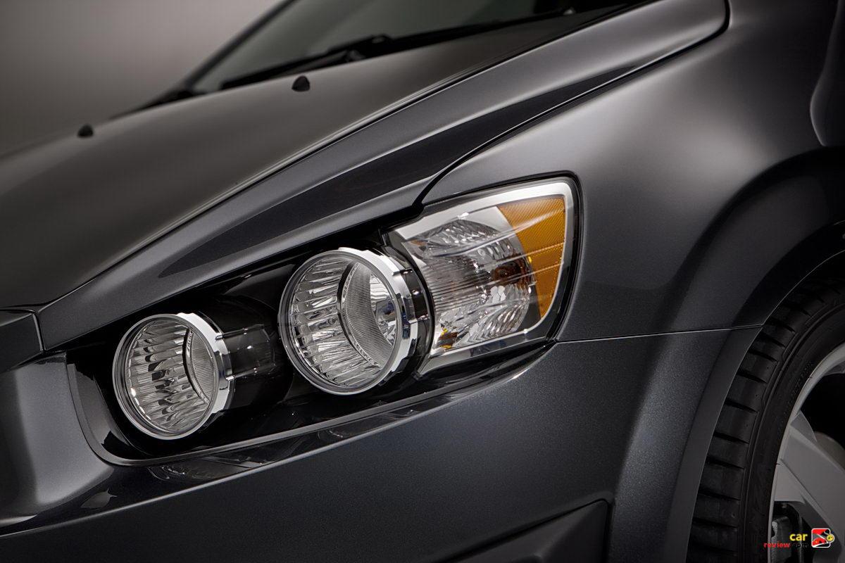 The 2012 Chevrolet Sonic sedan