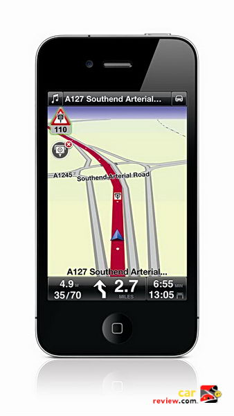 TomTom iPhone App 1.7