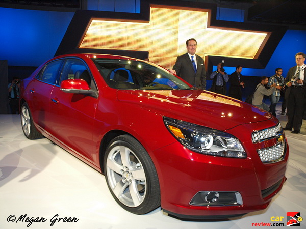 2013 Chevrolet Malibu New York Int'l A/S ©Megan Green