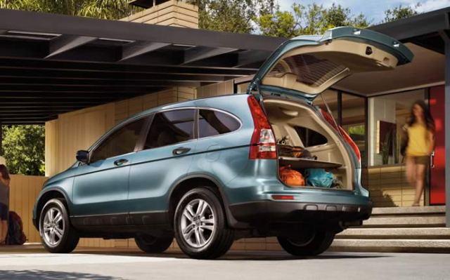 2011 Honda CR V Exterior Show Open Cargo