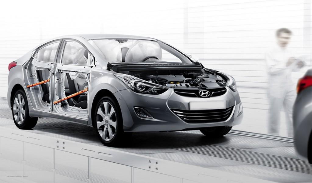 2011 Hyundai Elantra Saftey