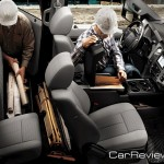 2011 Ford F-Series Super Duty best-in-class interior storage possibilities