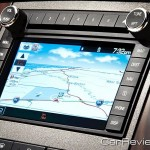 2011 Ford F-Series Super Duty voice-activated navigation system