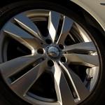 """17"""" split 5-spoke alloy wheels w/245/45-17 tires"""