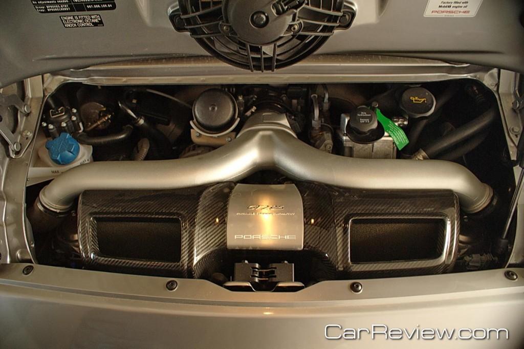 2011 Porsche 911 GT2 RS 3.6L 6-cylinder engine produces 620 hp