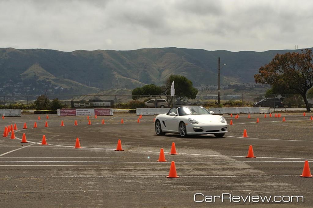 2011 Porsche World Roadshow autocross course