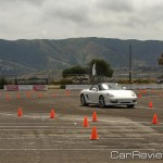 2011 Porsche World Roadshow autocross course