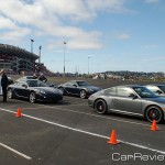 2011_Porsche_World_Roadshow on grid for 1 mile road course