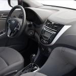 2012 Hyundai Accent Interior