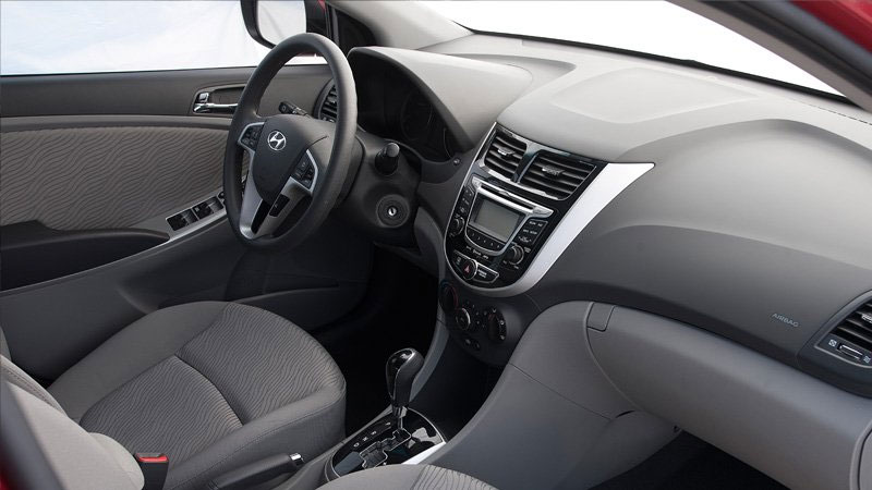 2012 Hyundai Accent Interior Car Reviews And News At