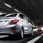 2012 Hyundai Accent Rear