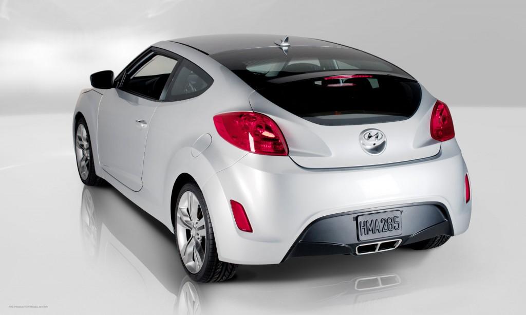 2012 Hyundai Veloster Rear Side