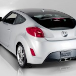 2012 Hyundai Veloster Rear Side