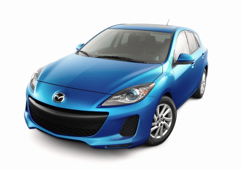 2012 Mazda3 Front Side Hatchback