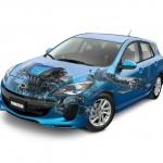 2012 Mazda3 Inside