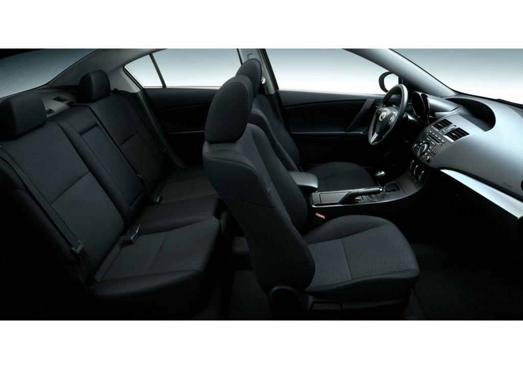 2012 Mazda3 Interior Back