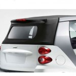 smart fortwo Passion Cabriolet back window
