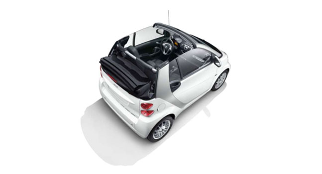smart fortwo Passion Cabriolet top