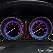 2011 Mazda CX-9 instrument cluster backlit
