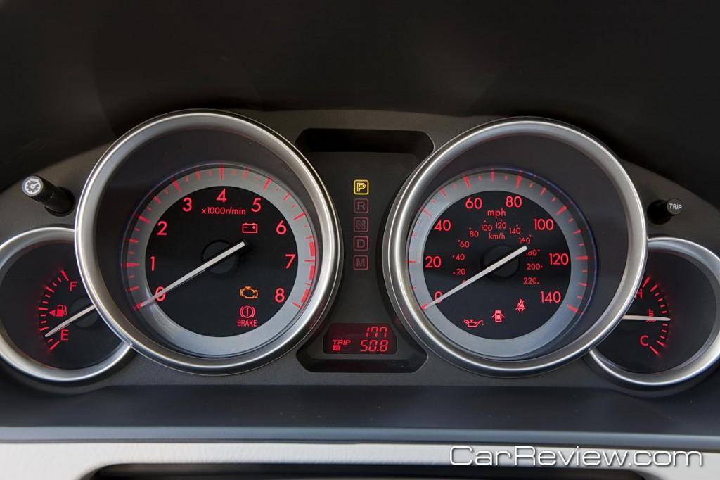 2011 Mazda CX-9 instrument cluster