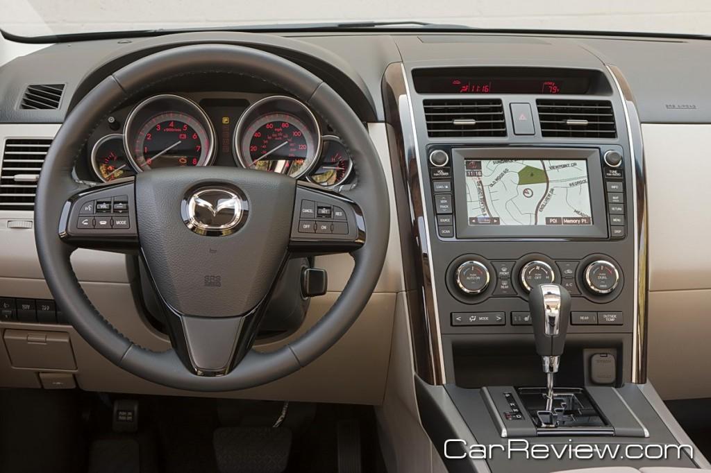 Mazda CX-9 navigation system