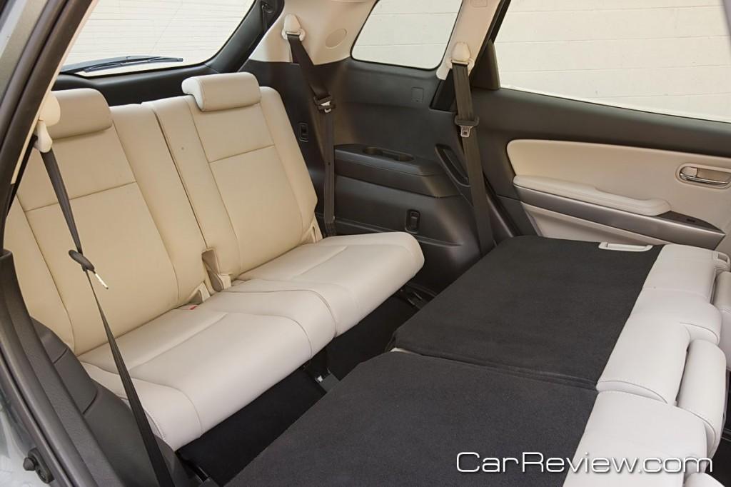 2011 Mazda CX-9 3rd row seating