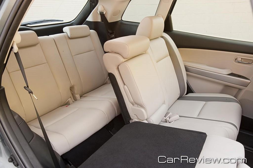 2011 Mazda CX-9 60/40 split fold-down reclining 2nd row seats