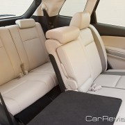 2011 Mazda CX-9 60/40 split fold-down reclining 2nd row seats